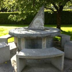 Sundial in Stradbally Village