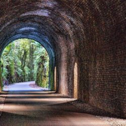 The old railway tunnel at Durrow